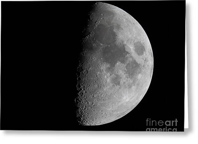 Moon Greeting Card by Steve Javorsky