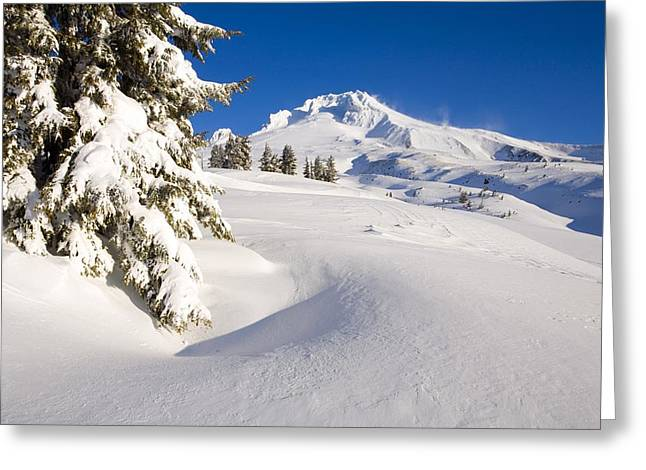 Mount Hood, Oregon, United States Of Greeting Card by Craig Tuttle