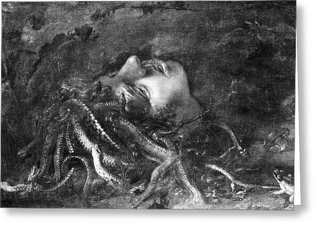 Mythology: Medusa Greeting Card