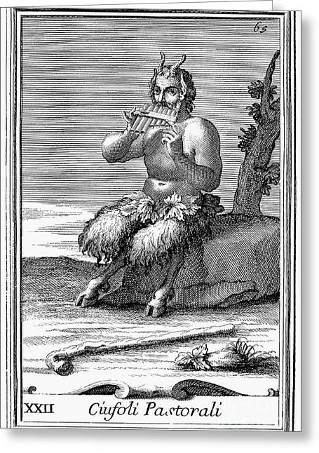 Mythology: Pan Greeting Card