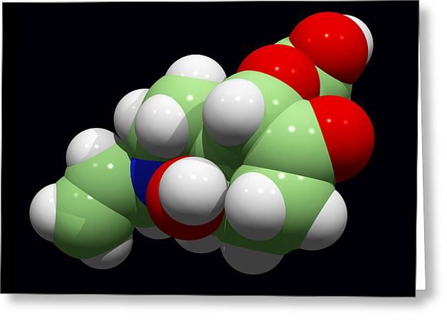 Naloxone Opioid Overdose Antidote Greeting Card by Dr Tim Evans