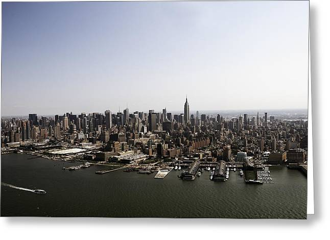 New York City Greeting Card by Paul Plaine