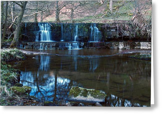 Nidd Falls Greeting Card