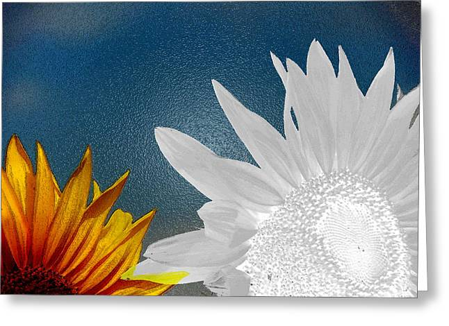 Now And Then  Greeting Card by Lenore Senior