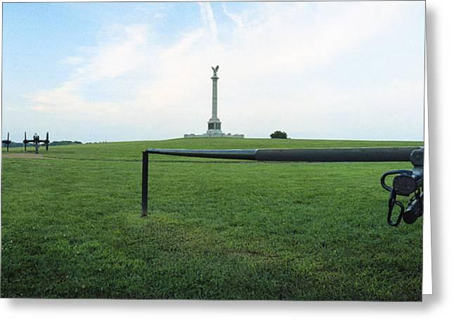 Ny Monument Antietam Greeting Card by Jan W Faul