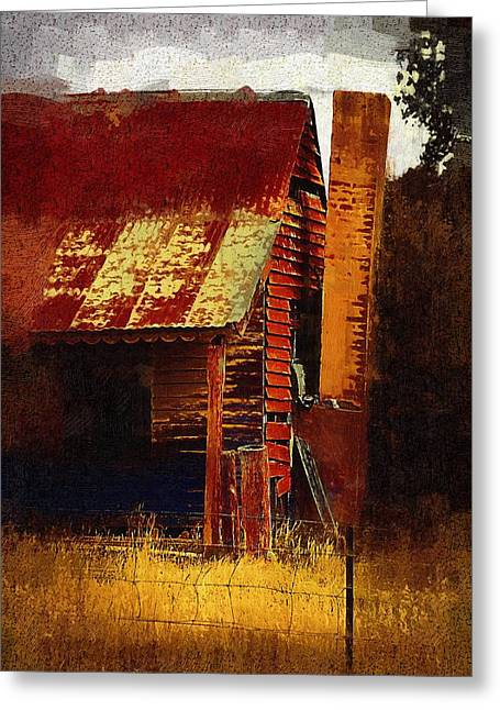 Old House In Australia Greeting Card