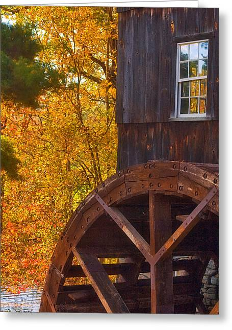 Old Mill Greeting Card by Joann Vitali