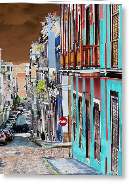 Old San Juan 14 Greeting Card