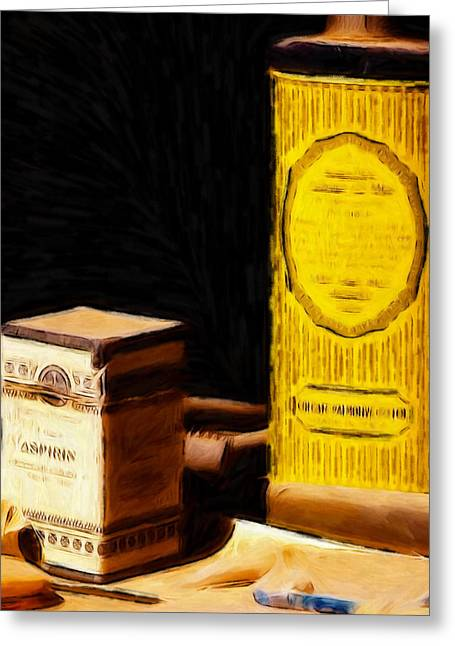 Old Times Greeting Card by Steve K
