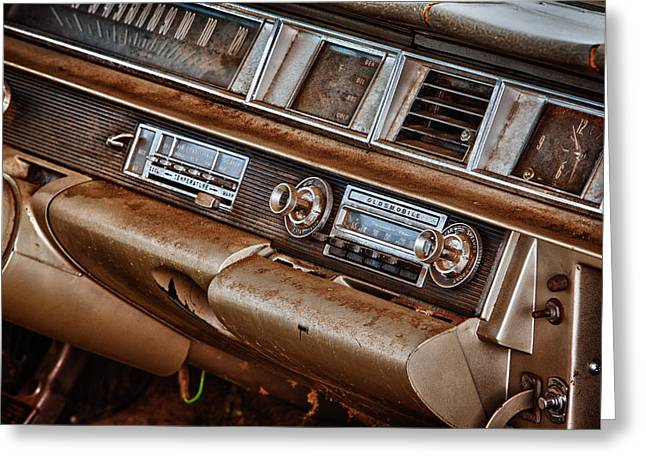 Oldsmobile Greeting Card by Richard Steinberger