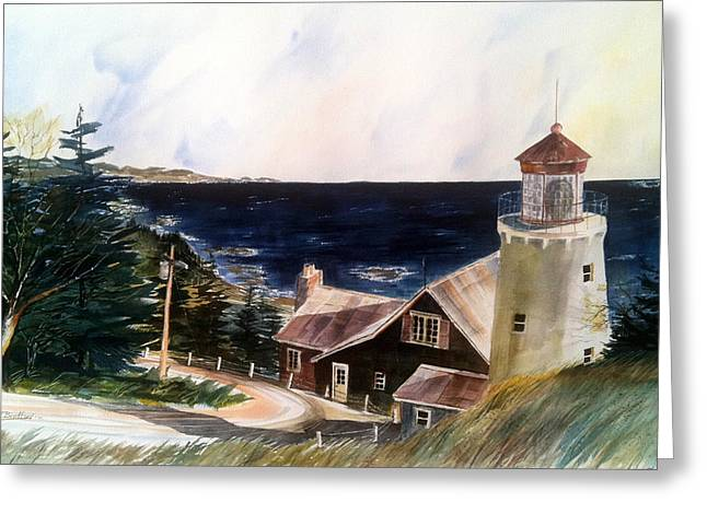 On A Clear Day Greeting Card by Don F  Bradford