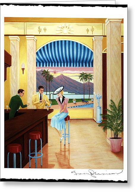 Palm Springs Rendezvous Greeting Card