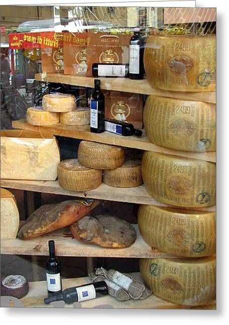 Parmesan Rounds Greeting Card