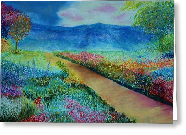 Patricia's Pathway Greeting Card