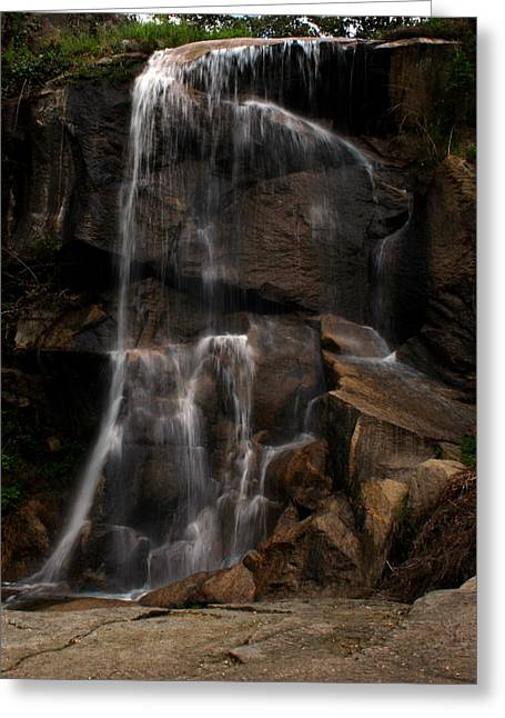Peaceful Falls Greeting Card