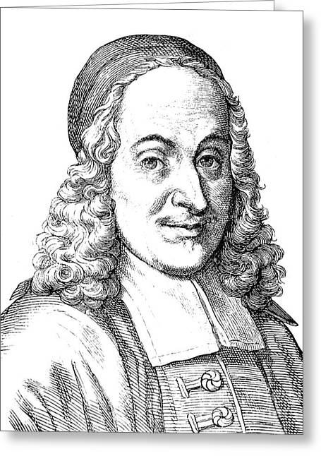 Philipp Spener (1635-1705) Greeting Card by Granger