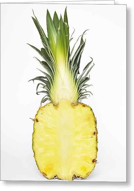 Pineapple Ananas Comosus Greeting Card by Matthias Hauser