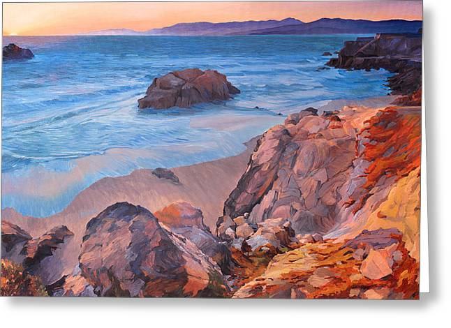 Point Lobos At San Francisco Greeting Card