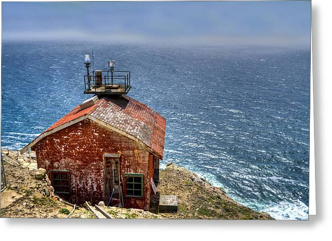 Point Reyes Lighthouse Greeting Card by Diego Re