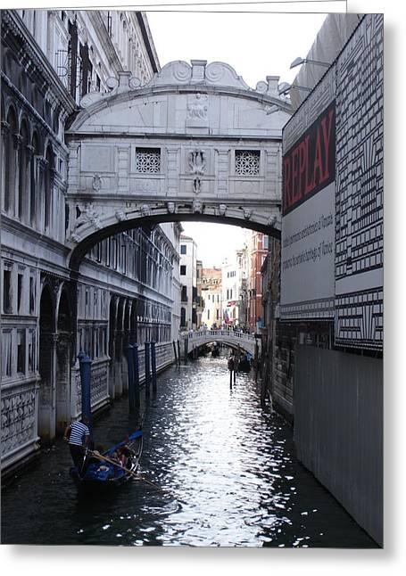 Ponte Dei Sospire Greeting Card