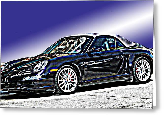 Porsche 911 Carrera Greeting Card by Samuel Sheats