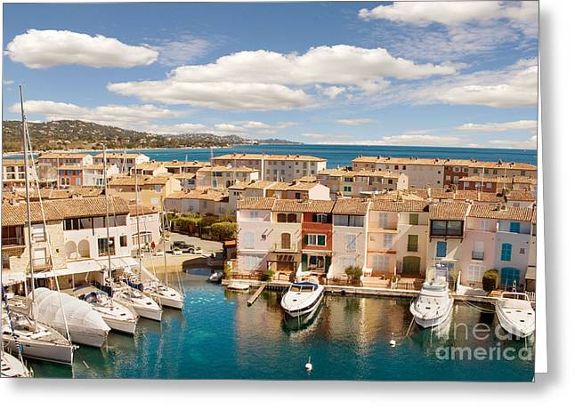 Port Grimaud 1 Greeting Card by John James