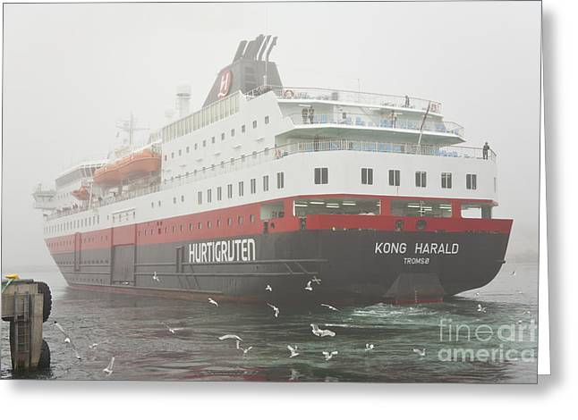Post Ship  Greeting Card by Heiko Koehrer-Wagner