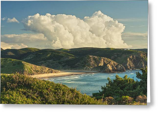 Praia Do Amado Greeting Card