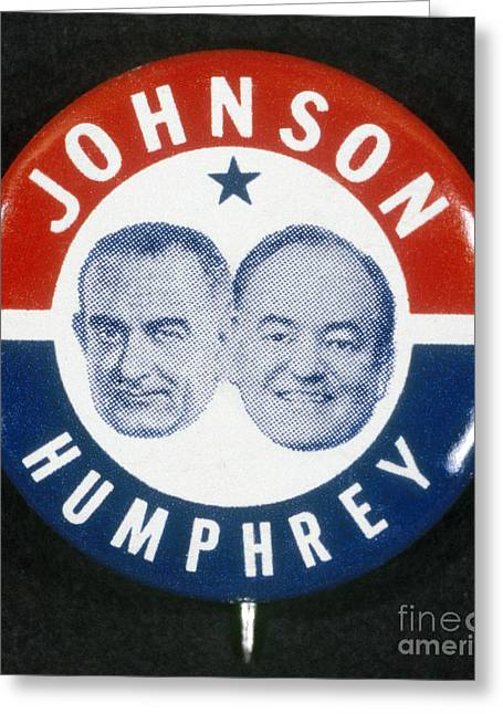 Presidential Campaign, 1964 Greeting Card by Granger