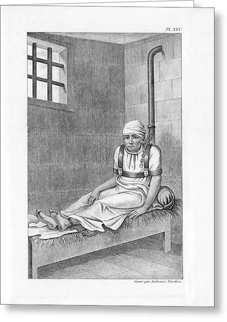 Psychiatric Patient, 19th Century Greeting Card by King's College London
