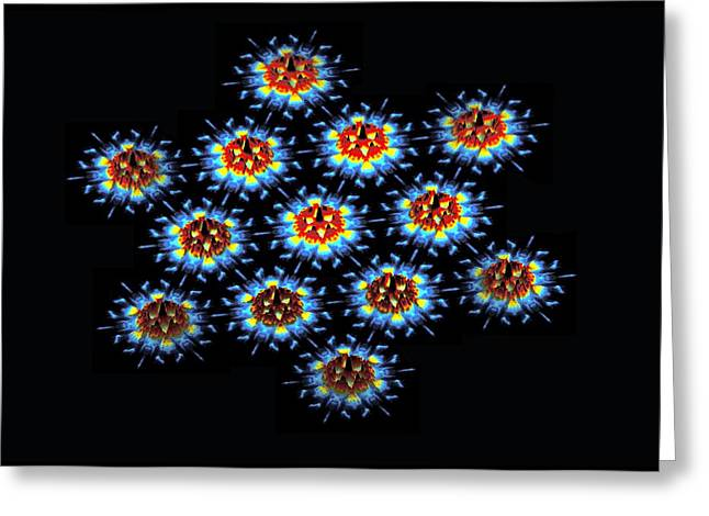 Quantum Waves In Topological Insulators Greeting Card by Dr A. Yazdani