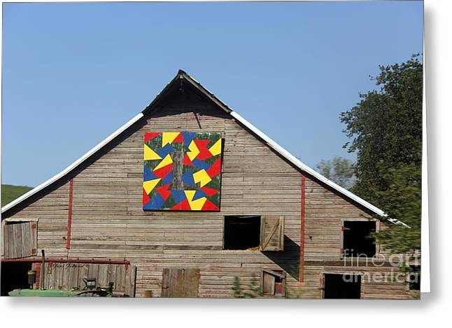 Quilt Barn Greeting Card