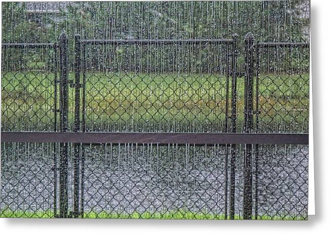 Rainy Day Greeting Card by Marilyn Atwell