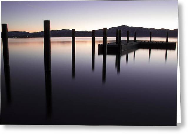 Reflective Thoughts Greeting Card by Brad Scott
