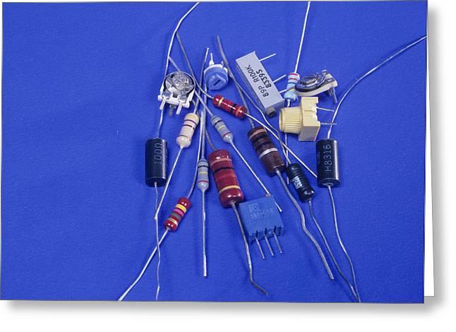 Resistors Greeting Card