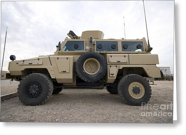 Rg-31 Nyala Armored Vehicle Greeting Card by Terry Moore