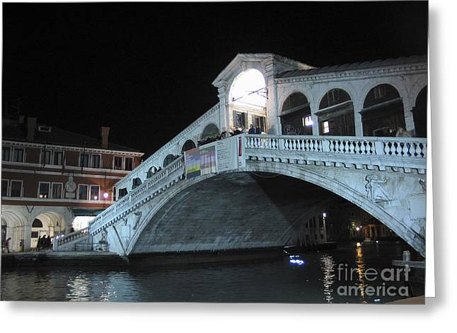 Rialto. Venice Greeting Card