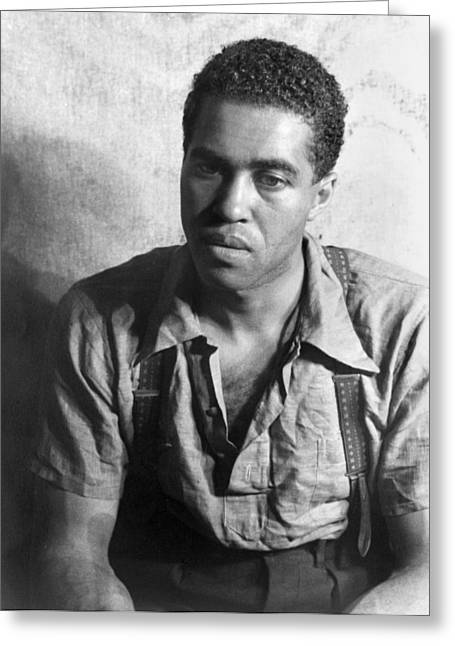 Robert Earl Jones Greeting Card by Granger