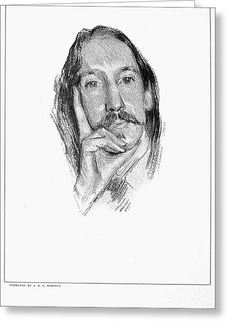 Robert Louis Stevenson Greeting Card by Granger