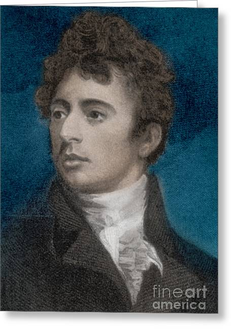 Robert Southey, English Poet Laureate Greeting Card by Photo Researchers