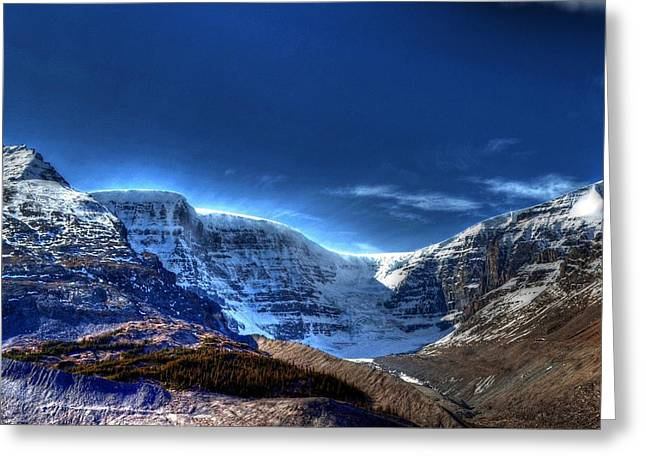 Rocky Mountains Greeting Card by Dan S