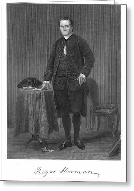Roger Sherman (1721-1793) Greeting Card