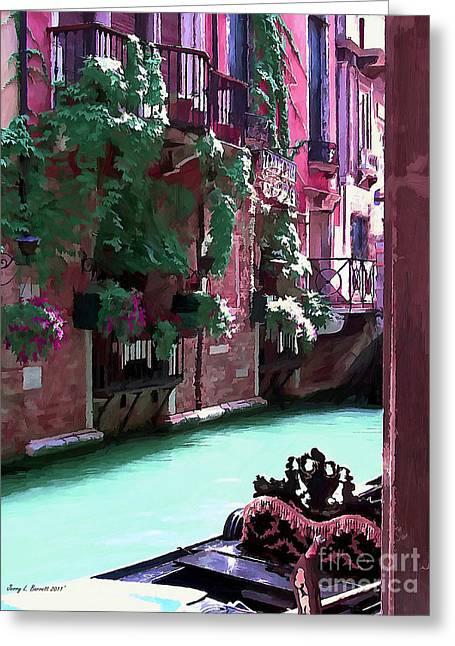 Romantic Venice Greeting Card