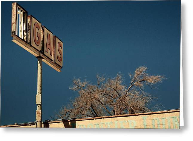 Route 66 Greeting Card by Aurica Voss