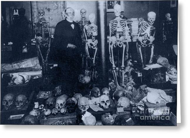 Rudolph Virchow, German Pathologist Greeting Card by Science Source