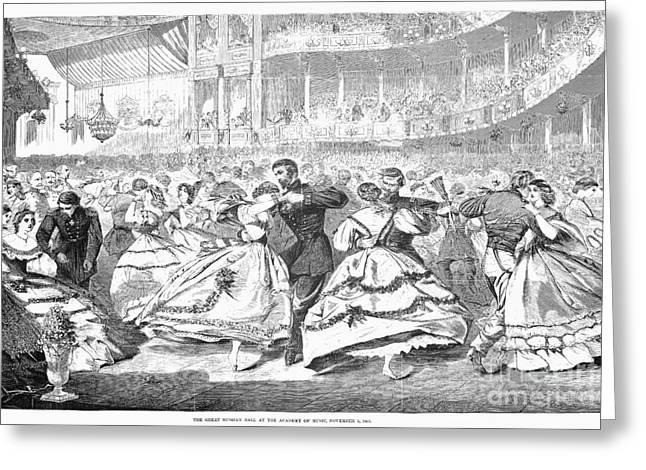 Russian Visit, 1863 Greeting Card