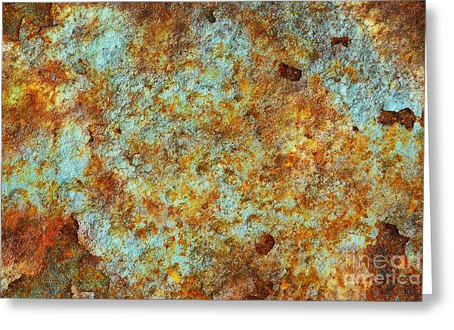 Rust Colors Greeting Card