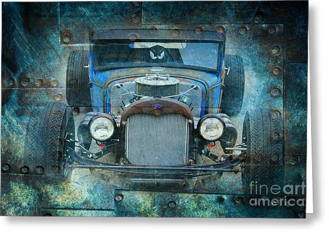 Rusted Classic Greeting Card