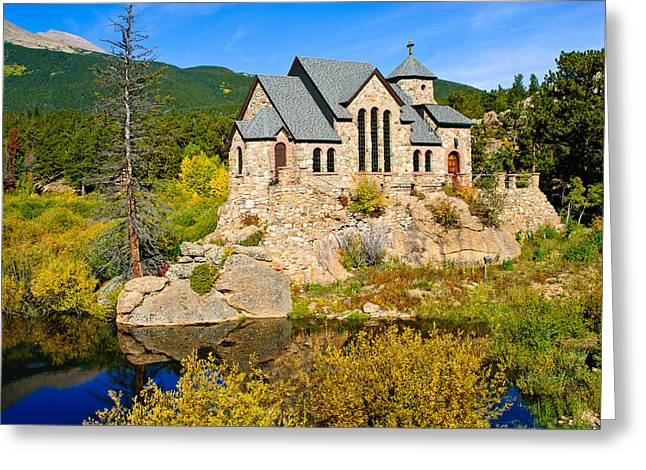 Saint Catherine's Chapel Greeting Card by Doug Andrews