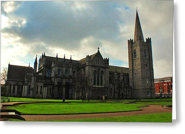 Saint Patrick's Cathedral Greeting Card by Artistic Photos